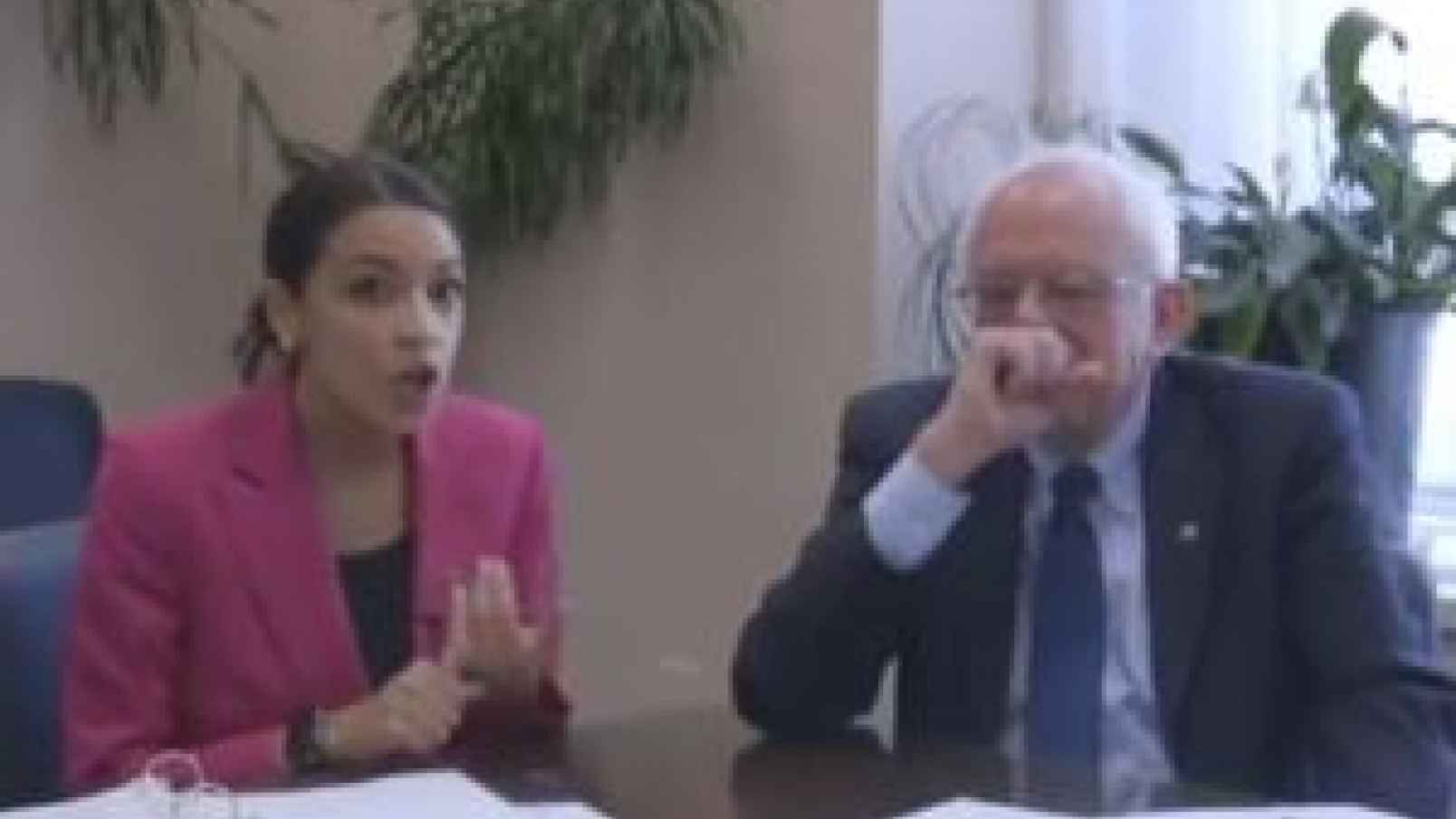 What the AOC `Weekend at Bernie`s` Endorsement is About - Frontpagemag