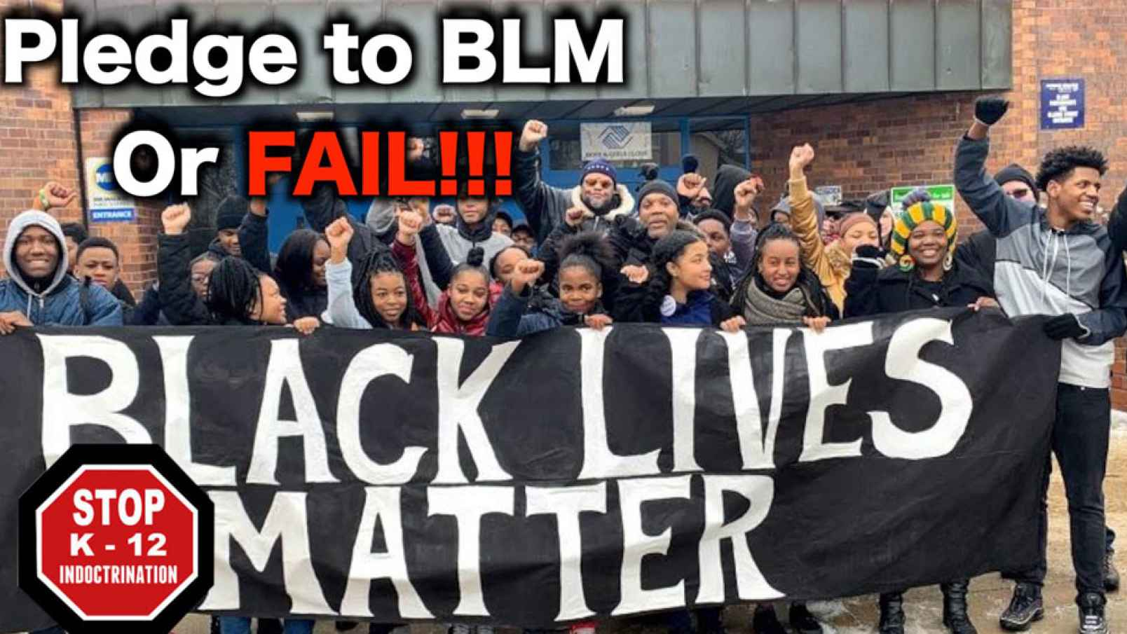 Fitzgerald Video: BLM Takes Over California Schools – Frontpagemag